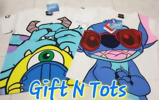 Stitch & Monsters Inc Tees