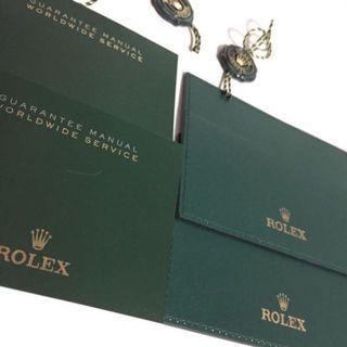 Rolex Warranty Card Holder Wallet