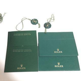 Rolex Latest Cert Holder Booklet Taga