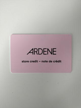 Ardene Store Credit ($15 value)