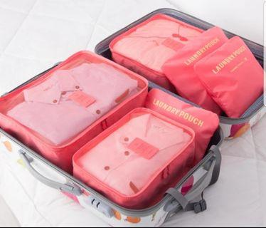 6Pcs Travel Organiser Bag (upgrade version)