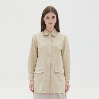 Shopatvelvet Marshall Beige Shirt