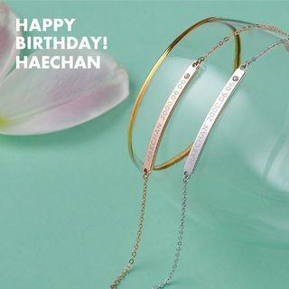 [SOLD] SM NCT HAECHAN BIRTHDAY BRACELET
