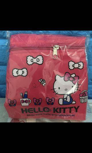 🚚 全新 贈品商品 hello kitty 包