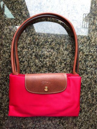 全新紅色大袋 Longchamp Bag