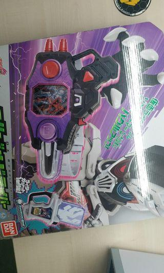 Kamen rider exaid dx buggle driver dangerous zombie + level up action figure