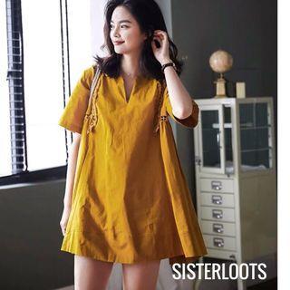 Mustard Lorene Dress