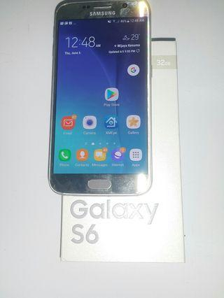 Samsung Galaxy S6 32gn used. Mulusss.