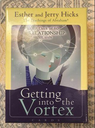 Getting into the Vortex: Relationship Cards by Esther and Jerry Hicks