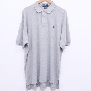 Size XL POLO Ralph Lauren Shirt in Grey Pit 28