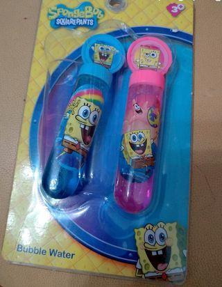 吹泡泡 sponge bob bubble water 海绵寶寶