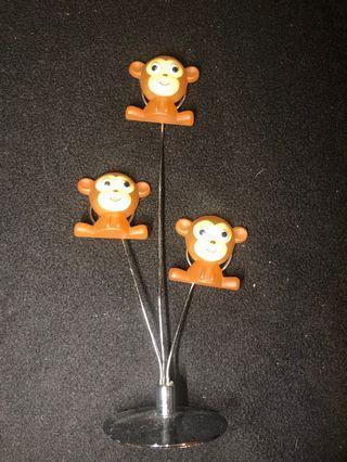 Ardene 3 monkey picture holder