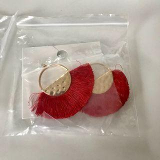 Fan earrings f21