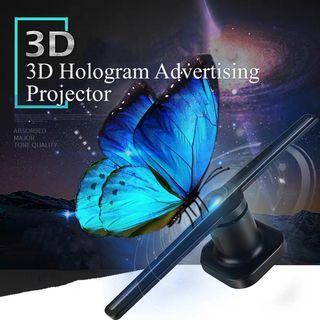 3D Hologram Video Advertising LED Projector 2019