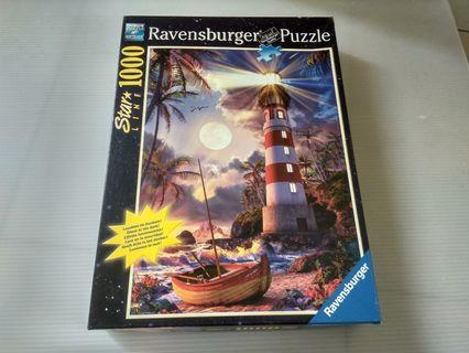🚚 燈塔 ravenburger 1000片 拼圖