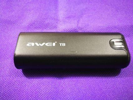 AWEI T8藍芽耳機