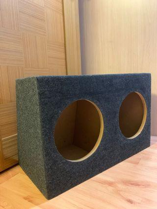 """10"""" Inch Twin Subwoofer Box"""