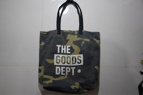 Tote Bag goods dept camo not porter undefeated