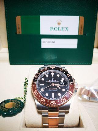 Rolex Gmt Rootbeer 126711CHNR