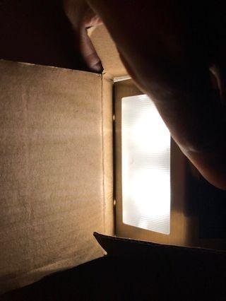 Mini Solar step light 5W 6000-6500k