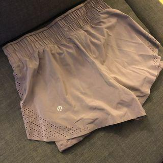 BRAND NEW Lululemon Running Shorts Two Layers