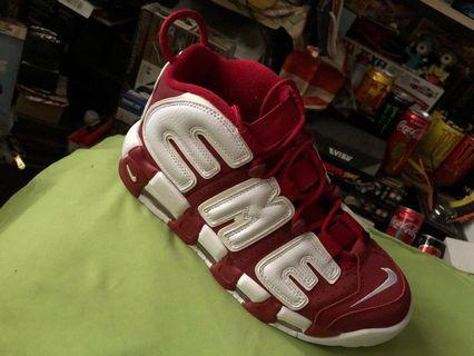 Supreme X Nike Air More Uptempo Limited Edition Red (UA)