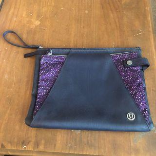 Lululemon Leather Wallet/Purse/Clutch