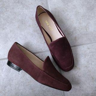 Brand New Nine West Burgundy Leather Loafers
