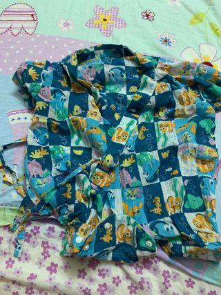 Disney日本袍夾衣