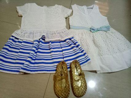 Gingersnaps size 4/ Old navy jelly size 9