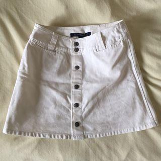 Club Monaco Denim Skirt