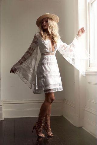 Thurley White Dress