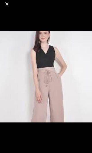 🚚 HVV Beau Overlay blouse - in both black and rose