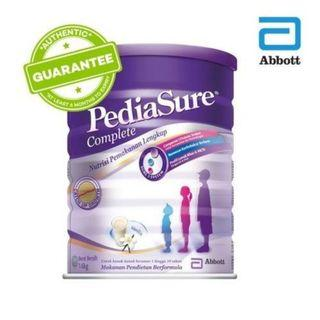 🚚 PediaSure Complete Nutrition Milk Powder (1.6kg tin)