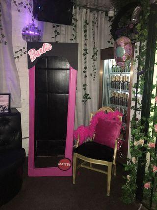 Barbie style party decor