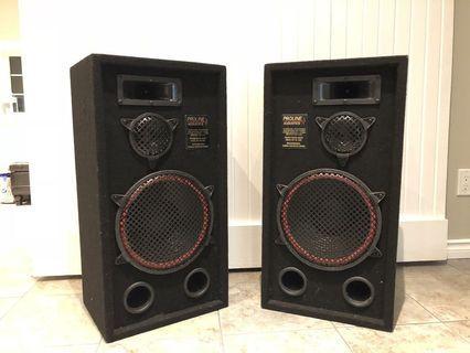 Pro Line Acoustic Speakers