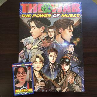 Smtown EXO The War The Power of Music KR ver.