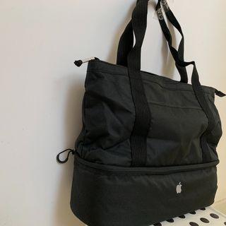 Apple Tote bag , new , black