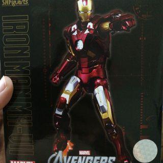 Shf iron man mark 7