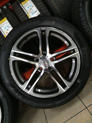 17 Inch 5x112 Brand New Rims & Tyres