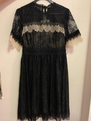Fire Sale: Brand New Authentic Max & Co Black Lace Dress