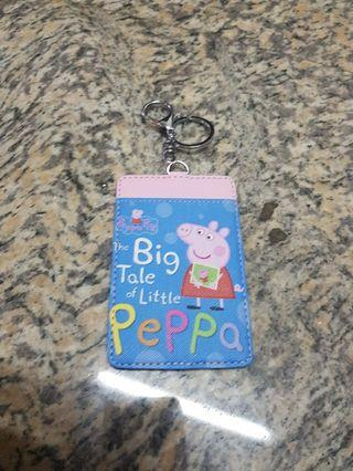 Peppa pig Ezlink Card Holder with key chain