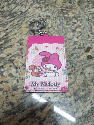 My Melody Ezlink Card Holder with key chain
