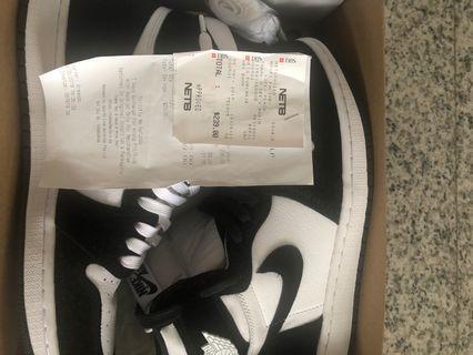 Nike Air Jordan 1 Panda WMNS US9