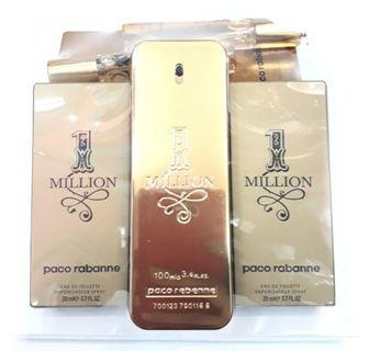 Set hantaran Paco Rabanne 1 Million