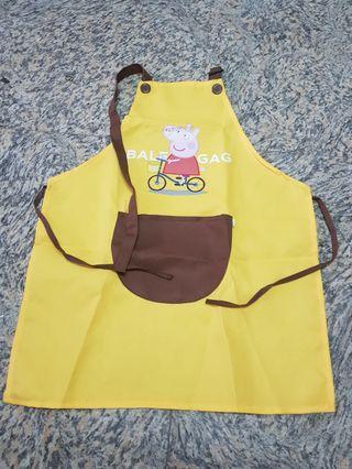 Peppa pig art apron