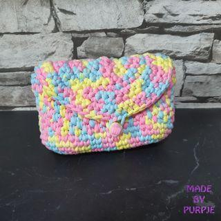 Crocheted Pouch with Belt Loop
