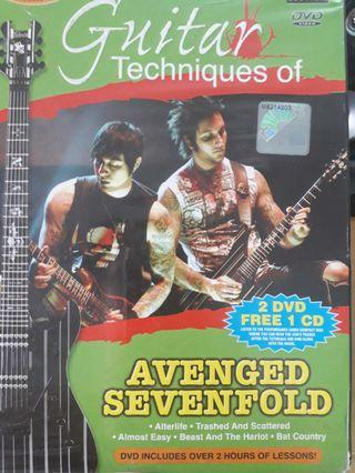 Guitar Techniques of Avenged Sevenfold