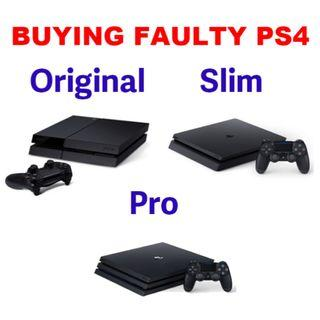 [READ DESCRIPTION] BUY BACK: Faulty SONY & NINTENDO Consoles