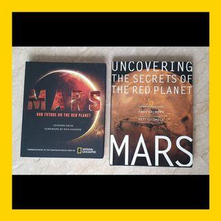 National Geographic Mars Series Coffeetable Books